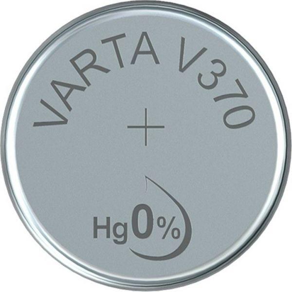 Silberoxid-Knopfzelle Typ SR69 / V370 von Varta